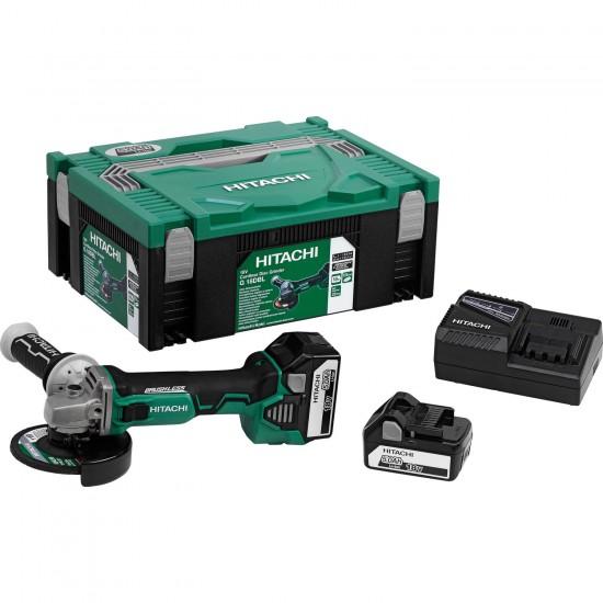 Mini-rebarbadora a bateria de litio 18v 5.0Ah G18DBL 125 mm BRUSH LESS